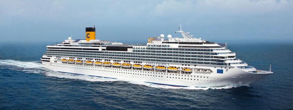 November: Kreuzfahrt mit der Costa Pacifica