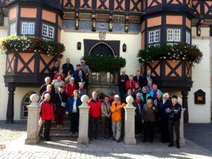 Seniorenbund Weiler vor dem Rathaus von Wernigerode