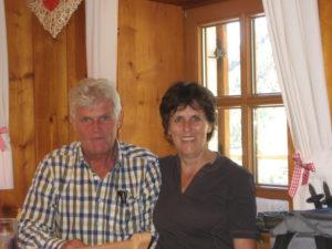 Evelyn und unser Wanderführer