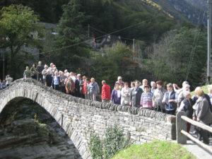 Auf der Ponte dei Salti