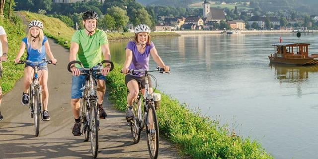 August: Radwoche Donau Radweg