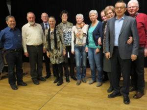 Der neue Vorstand des Seniorenbundes Lustenau