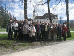 Die Senioren im Park von Schloss Linderhof