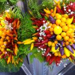 Blumenstrauß aus Gemüse