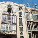 Das schöne Haus von Gaudi gestaltet