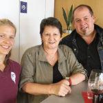 Sabine, Mary und Rainer