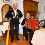 Unsere Schweizer Musikanten Franz und Hans-Ruedi