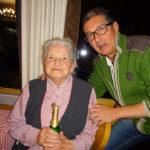 Unsere älteste Teilnehmerin Frau Katharina Groß aus Buch wird im Mai 90ig Jahre alt