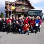 Gruppenfoto vor der Seeliberg-Treib-Bahn