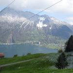 Herrlicher Blick auf die Bergwelt