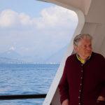 Katharina genoss die Schifffsfahrt