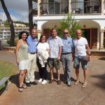 Das SB Team mit Hoteldirektor Dino