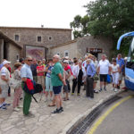 Besuch vom Kloster Ljuc