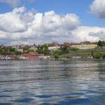 Blick auf Meersburg