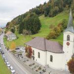 Das schöne Dorf Fluh ob Bregenz
