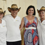 Unsere Leiterin Elle mit Jürgen, Angelika und Elfi