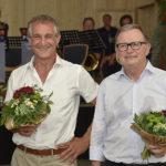 Zwei Kavaliere Markus und Karlheinz