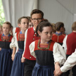 Die Kindertrachtengruppe Hittisau