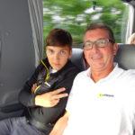 Reiseleiter Franz mit Sohn Pius