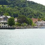 Schöne Orte befinden sich am See