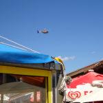 Landung vom Rettungshubschrauber