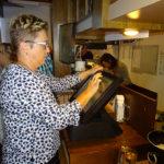 Claudia unsere fleissige Bedienung im Service