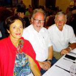 LR Dr. Bernadette Menne mit LO aBgm. LAbg. Werner Huber und BSR Franz Wolfinger