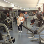 Ein schöner Fitnessraum