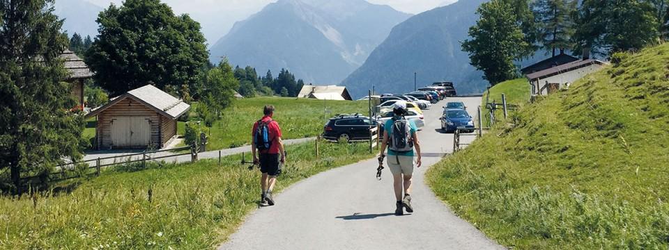 August: 24. Landeswandertag Bürserberg – Tschengla