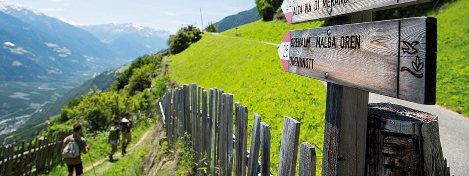 Juni: Wanderwoche Vinschgau