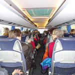 Ausflug mit Bus