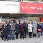 Besichtigung vom ORF