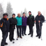 Unsere Wandergruppe mit Dr. Gottfried Feurstein