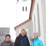 Kirchenbesichtigung mit Johann Moschner