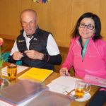 Rudi und Angelika beim Urkunden schreiben!
