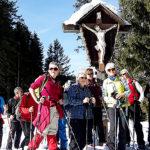 Gruppenfoto Schneewanderung Silbertal