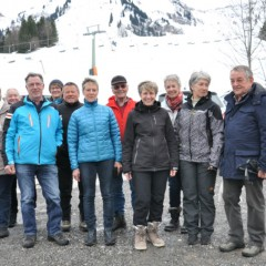 Bezirks-Winterwanderung in Schetteregg