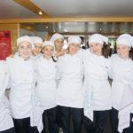 Gruppenfoto der Schülerinnen