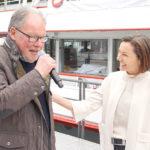 Landesobmann Werner Huber und Martina Rüscher