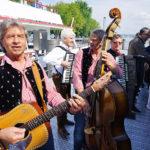 Musik zur Begrüssung am Hafen Bregenz