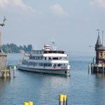 Einfahrt in den Hafen Konstanz