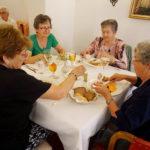 Abendessen in unserem Hotel Goldenes Kreuz