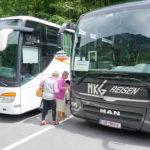 Fahrt mit dem Bus zur Talsperre Kaprun
