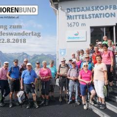 Einladung Wandertag 2018