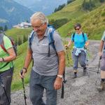 Schöne Wanderung zur Bergstation