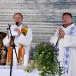 Pfarrer Willam und Pater Johannes