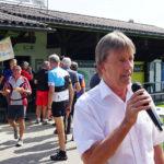 Bürgermeister Fitz Maierhofer bei den Grussworten