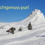18 Schigenuss pur
