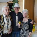 Geschäftsführer Franz mit zwei netten Gästen