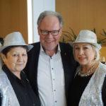 Landesobmann Werner Huber mit Mary und Elfi